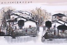 Chinese Jiangnan paintings / Chinese Jiangnan paintings from CNArtGallery.com http://www.cnartgallery.com/61-chinese-jiangnan-paintings#/page-4