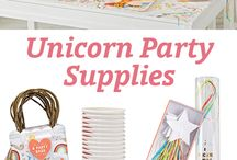Unicorn dinosaurs party