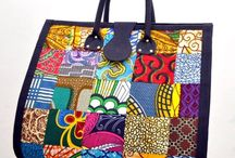 Misc. colorful bags / Misc. raw and/or colorful bags