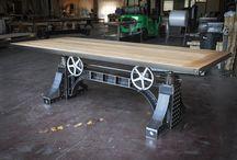 industrial furniture.