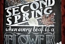 Blackboard Art Ideas / by Lydia Slayden