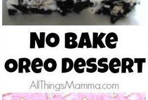 Oreo sweets   desserts