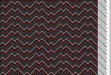 8 Shaft Weaving Drafts