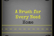 A Cleaning Brush for Every Need (Home) / Where we show the various different brushes you can use for most cleaning projects within your home.