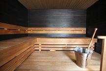 Kylpyhuone-/saunatilat