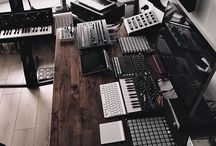 Home Recording Studios / Some of the best designed home recording studios around the globe. Get ideas for yours...