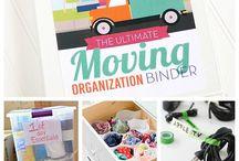 move & organize