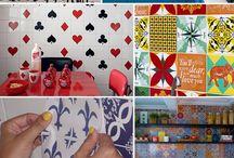azulejos e pinturas