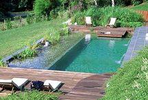 Bazény, jazierka, garden