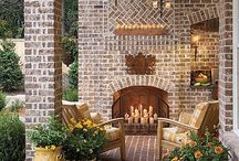 Outdoor Fireplaces / by Hope Reed
