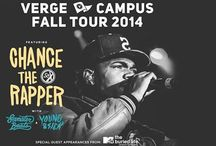 Verge Campus Tour #chancetherapper   @stablerarena on October 16 / by Stabler Arena