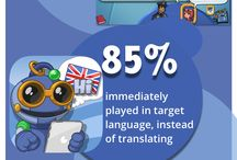 双语 Bilingual Resources / Learning English, Spanish, French