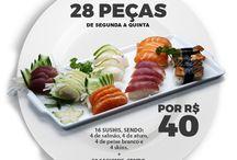 Promoções do Delivery Sushi Rão
