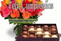 tarjeta de cumpleaños con chocolate