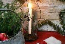 Vánoce - pergola