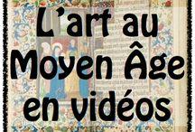 Vidéos histoire des arts le Moyen âge