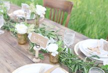 Chic french wedding style / All things beautiful and chic to provide inspiration for a magical wedding in France