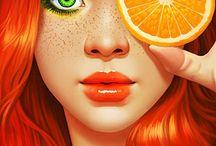 Orange / by Dee Webb