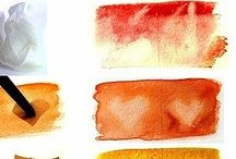 natural material to painting design