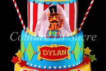 1st birthday fisher price circus