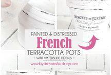 French craft ideas