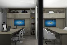 Corporativos / Móveis e decorações de ambientes corporativos, escritórios, sala de reunião...