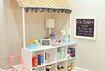 Kynlees Play Room / by The Rhoads Family