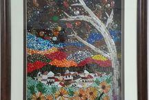 Mozaik çalışmalarım