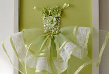paper & fabric dresses