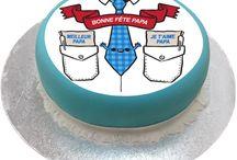 Habillez votre gâteau pour la Fête des pères / Habillage gâteau, cake design, fête des pères
