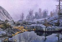Landscape photography location