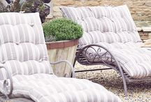 Garden, furniture, and favorite places to relax in.