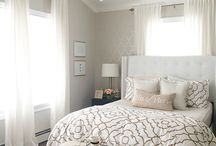 Neutral bedrooms / by Rachael Bailey