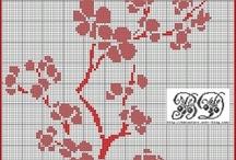 flora cross stitch
