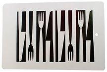 Cutlery Mural