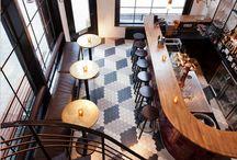 INSPIRATION: Public places / Kahviloita, hotelleja, kauppoja...