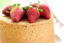 Ricette dolci - chiffon cake e fluffose