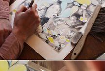 Artists' Studios and Process