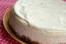 Food:  Cheesecakes!!!