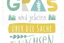 Spruchreif / Postkarten