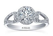 Diamonds / Crown Family Jewellers are stockists of the beautiful Canadian Maple Leaf Diamonds