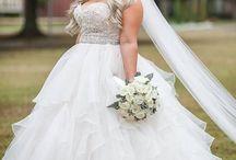 Plus size wedding