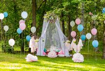 Coloured wedding dress concept shoot