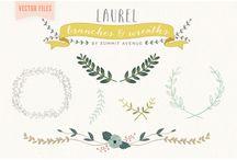 Laurel Clip Art / Clip art and vectors having to do with lovely laurels!