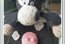 Lappenpoppen haken (crochet)