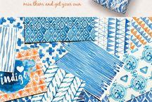 patern/textile