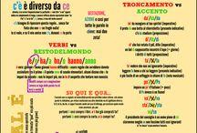 Infografiche - Lingua Italiana