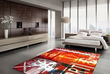 Art Carpets / Hand Tufted natural wool & Bamboo silk hi-quality carpets from www.the-artwork-factory.com