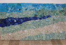 MOSAICS / Mosaics, mosaic designs, mosaic tiles, patterns, color, colours, mosaic art, house, home, home decor, garden, garden decor, recycling, re-using, DIY, craft, decoration, sculpture