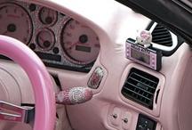 My pink car!!